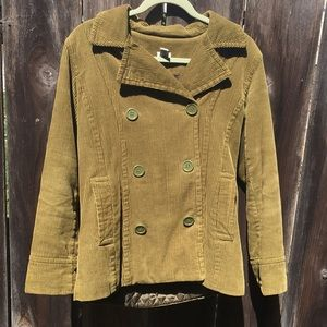Bass Corduroy Pea Coat